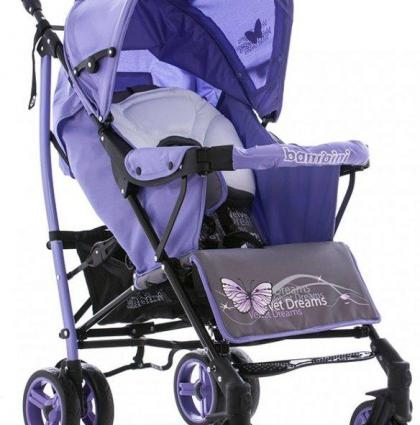 Bambini Shuttle_violet butterfly
