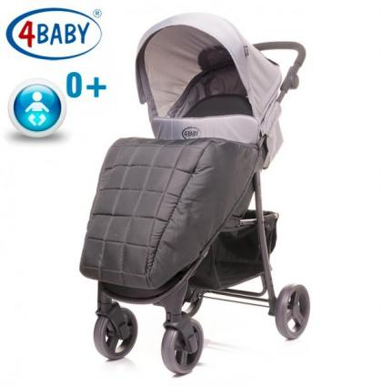4 Baby коляска Rapid NEW-Dark Grey
