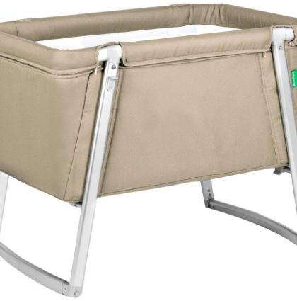 Babyhome Dream Baby Cot_Sand