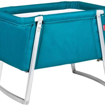 Babyhome Dream Baby Cot_Turquoise