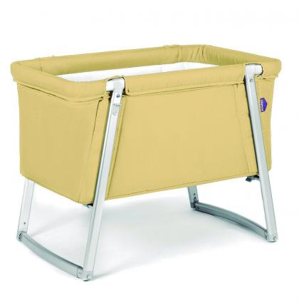 Babyhome Dream Baby Cot_Yellow